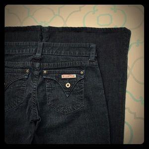 Hudson Wide Leg/Flare Jeans size 27